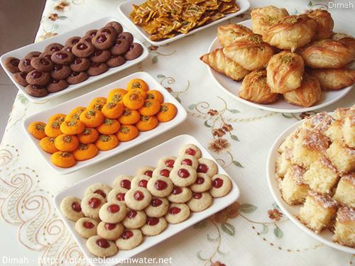 Dimah - http://www.orangeblossomwater.net - Eid Al-Fitr, Sweets - 2014 99c