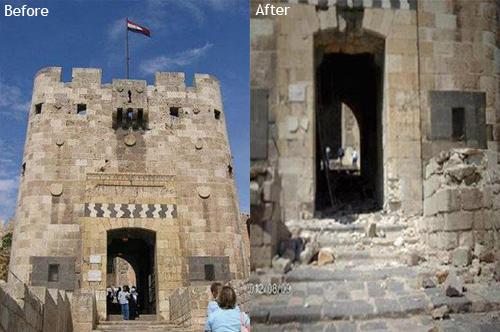 Dimah - http://www.orangeblossomwater.net - Aleppo Citadel 2