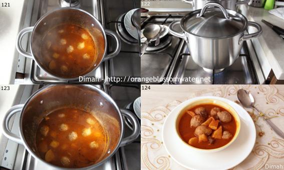 Dimah - http://www.orangeblossomwater.net -Kibbeh Safarjaliyeh 99l