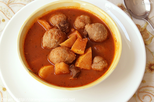 Dimah - http://www.orangeblossomwater.net -Kibbeh Safarjaliyeh 99p 500