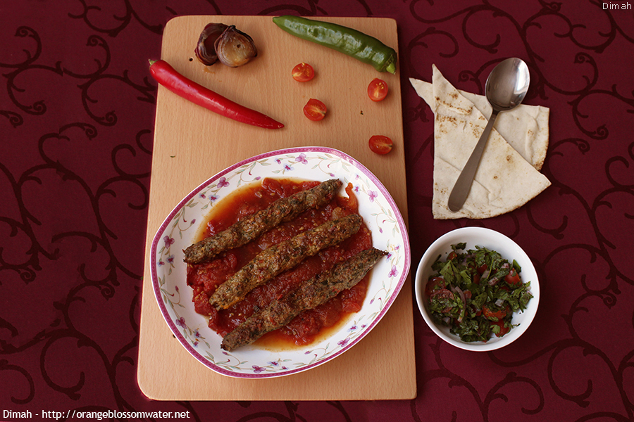 To aleppo with love kabab khashkhash orange blossom water may 9th 2015 forumfinder Choice Image