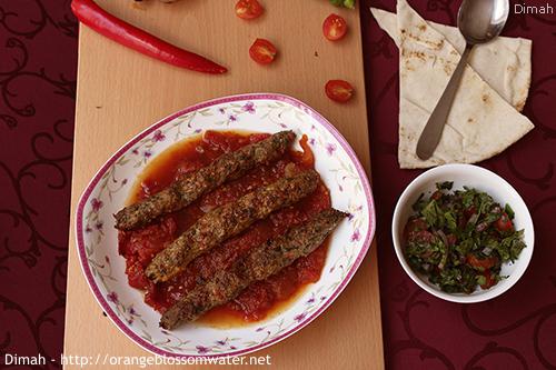 Dimah - http://www.orangeblossomwater.net - Kabab Khashkhash 99n 500