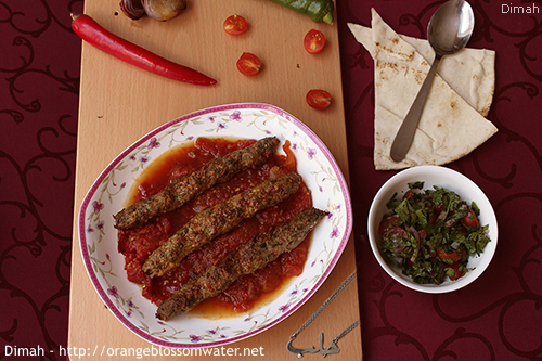 Dimah - http://www.orangeblossomwater.net - Kabab Khashkhash 99q 500