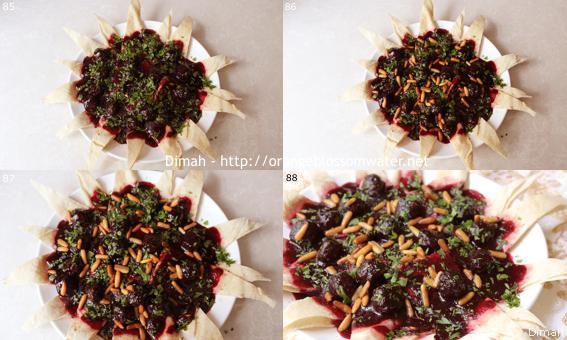 Dimah - http://www.orangeblossomwater.net -Lahmeh Bi-Karaz 99c