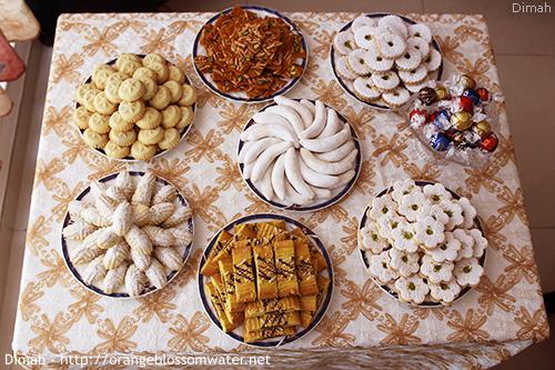 Dimah - http://www.orangeblossomwater.net - Eid Al-Fitr, Sweets 1 500