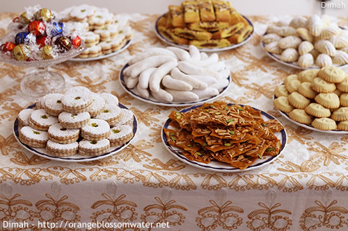 Dimah - http://www.orangeblossomwater.net - Eid Al-Fitr, Sweets 16 500