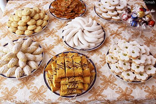 Dimah - http://www.orangeblossomwater.net -Eid Al-Fitr, Sweets 3 500