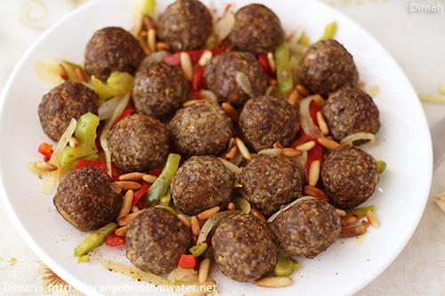 Dimah - http://www.orangeblossomwater.net - Kibbeh Qassabiyeh 99k 500