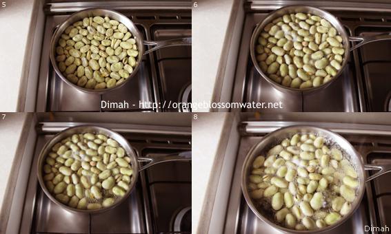 Dimah - http://www.orangeblossomwater.net - Foul Mdammas Bel-Khaltah Al-Halabiyeh 2