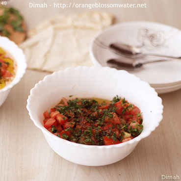 Dimah - http://www.orangeblossomwater.net - Foul Mdammas Bel-Khaltah Al-Halabiyeh 93