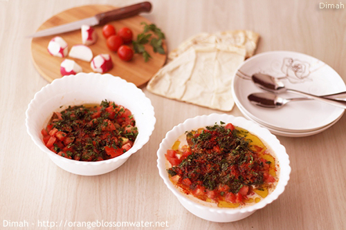 Dimah - http://www.orangeblossomwater.net -Foul Mdammas Bel-Khaltah Al-Halabiyeh 99d 500