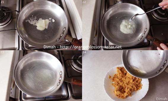 Dimah - http://www.orangeblossomwater.net - Kibbeh Naiyeh Bes-Samneh 6