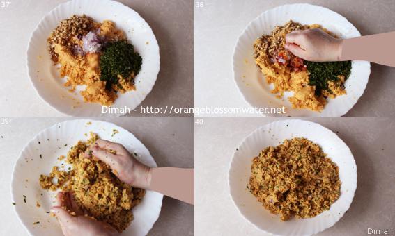 Dimah - http://www.orangeblossomwater.net - Kibbeh Naiyeh Bes-Samneh 90