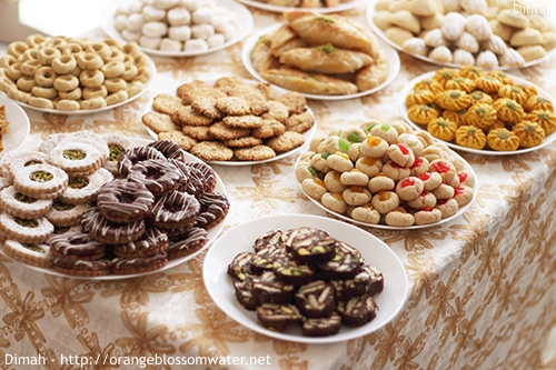 Dimah - http://www.orangeblossomwater.net - Eid Al-Fitr, Sweets - 2016 99c 500